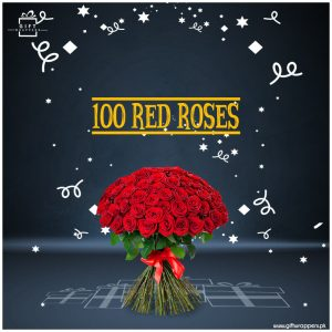 100-Red-Roses bunch