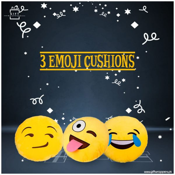 3-Emoji-Cushion