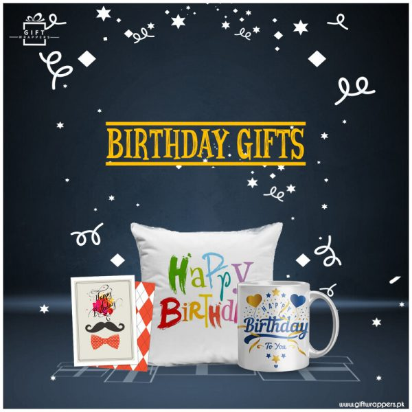 Birthday-Gifts with cushions