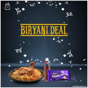Biryani Deal with drink