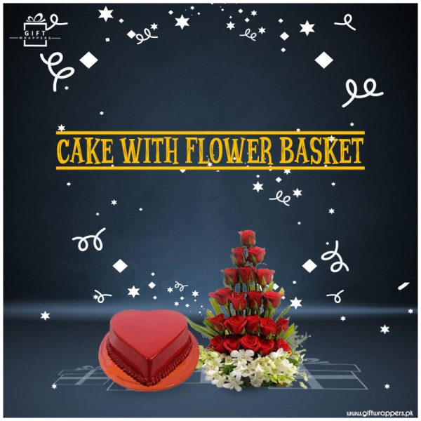 Cake-with-Flower