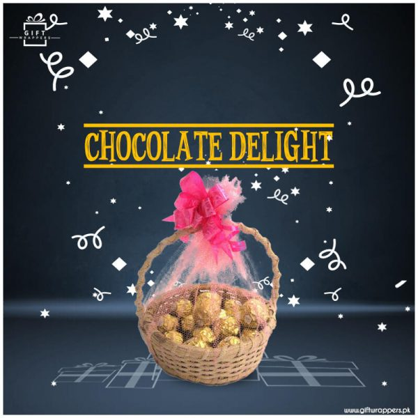 Chocolate-Delight with basket