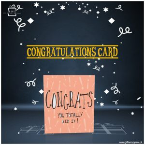 Congratulations-Card for every occasions