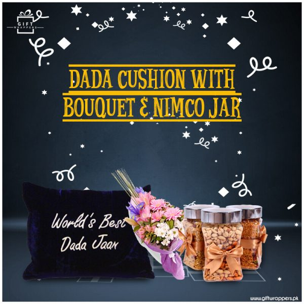 Dada-Cushion-With-Glads-&-Nimco
