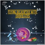Flying-Helicopter-with-Chocolates