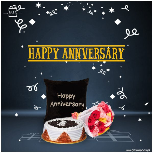 Happy-anniversary for new couples