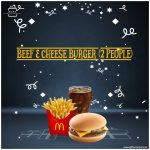 Beef-&-Cheese-Burger-(2-People)