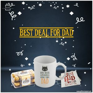 Best-Deal-For-Dad for chocolates