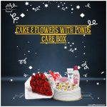 Cake-&-Flowers-With-Ponds-Care-Box