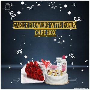 Cake-Flowers-Care-Box