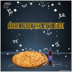 Cheese-Lover-Pizza-With-Drink