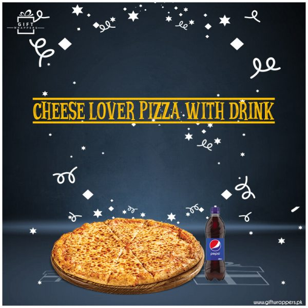 Cheese-LoverPizzaWithDrink