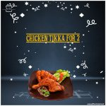 Chicken-Tikka-for-2 persons