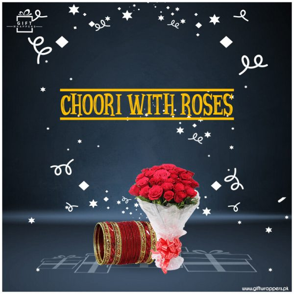 Choori-With-Roses for girls