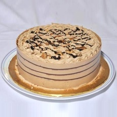 Coffee Crunch Cake From
