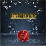 Cricket-Ball-Red