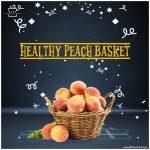 Healthy-Peach-Basket