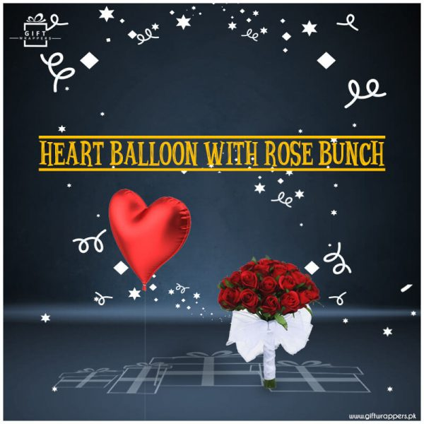 Heart-Balloon-With-Rose