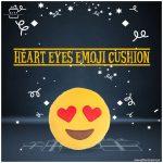 Heart-Eyes-Emoji-Cushion