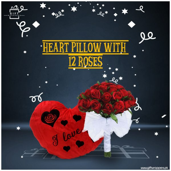 Heart-Pillow-With