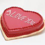 I LOVE YOU Cake From Bakery