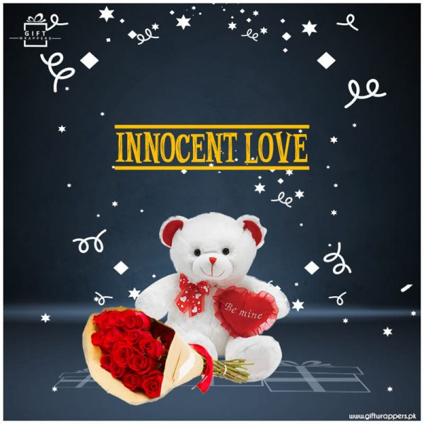 Innocent-Love with bouqet