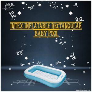 Intex inflatable Rectangular