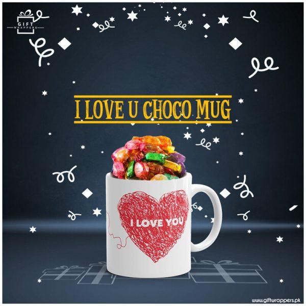 Love-Choco-Mug with tofees