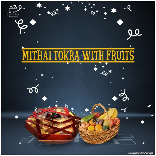 Mithai-Tokra-With-Fruits baskets