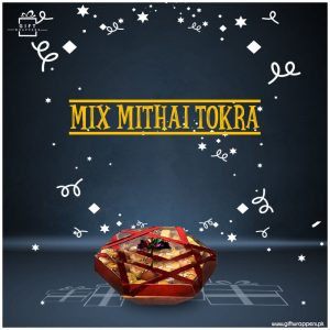 Mix-Mithai-Tokra for sweets
