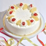 Pineapple Cake From Bakery for anyone