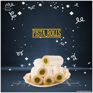 Pista-Rolls mithai