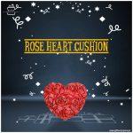 Rose-Heart-Cushion