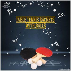 Table Tennis Rackets Balls