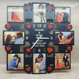Customized Picture Acrylic Frame for men.