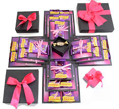 2 layer chocolate box for men