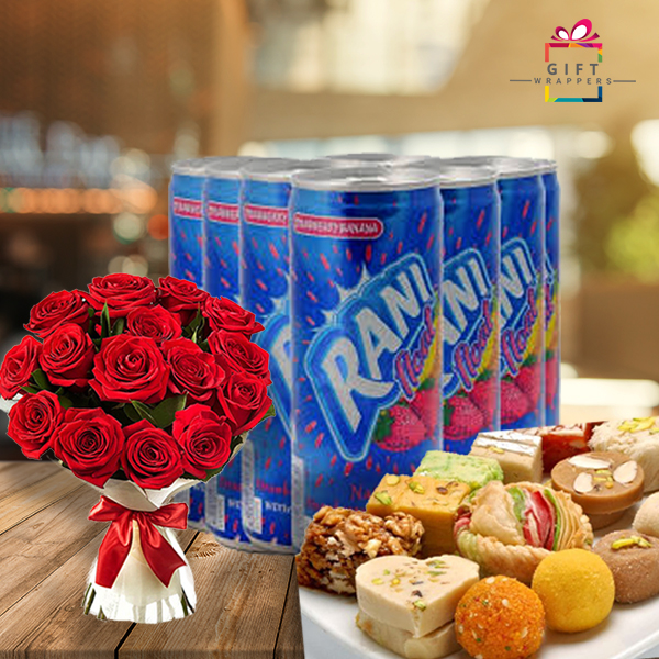juice-with-flower-and-mithai-1- for women