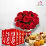 juice-with-flower-and-mithai