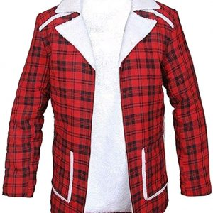 Deadpool coat flannel coat movie coat celebrity coat