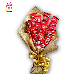 BEAUTIFUL KITKAT CHOCOLATE BOUQUET for occasion