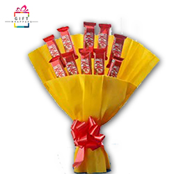 KIT KAT CHOCOLATE AND BOUQUET