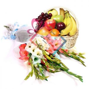 Fresh & Healthy Delight Basket This Product includes: